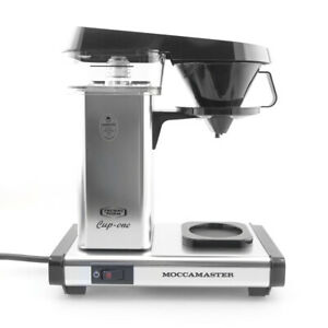 New Technivorm KB300 Cup-One Personal Handmade Coffee Maker - Polished Silver