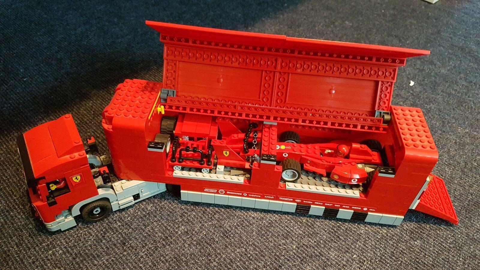 Lego Racers Scuderia Ferrari Truck (8654)