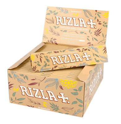 Rizla Natura Rolling Papers Organic King Size Joint Roller Skins
