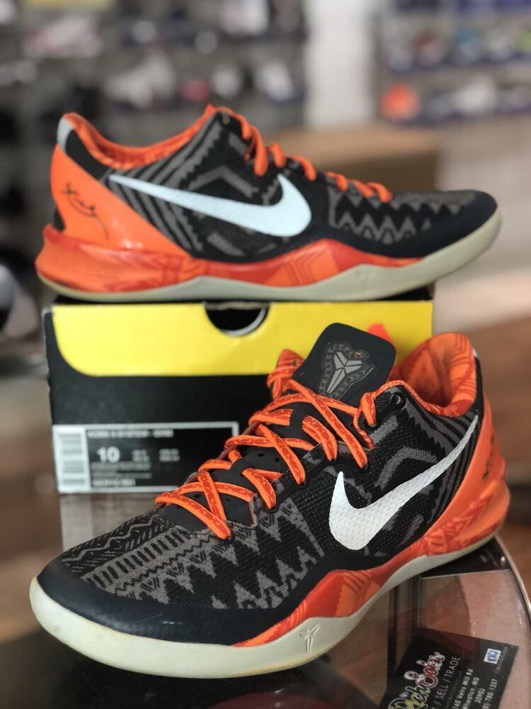 Nike Kobe 8 VIII System BHM Noir HISTORY MONTH 583112 001  Chaussures de sport pour hommes et femmes