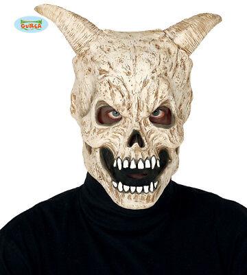 Confezione da 6 Argento Metallico TESCHIO maschere Halloween Scheletro Adulto