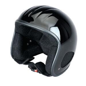 Kulthelm TITAN Jet-Helm Chopper Harley Open Face Klassik Doppel-D Verschluss XL