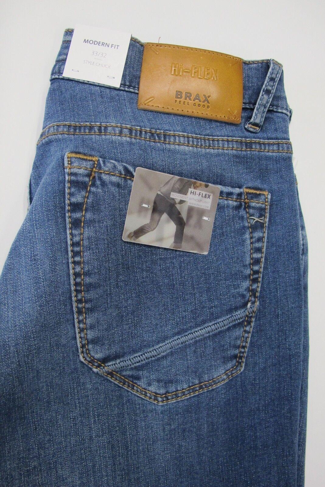 Brax Herren Herren Herren Jeans Style Chuck Blau 8fe1d0