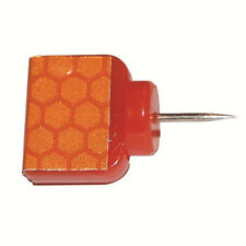 Hme Products Reflective Trail Marker Wing Tacks Orange 25 Pack