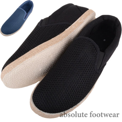 Shoes Mens Pumps Holiday Mesh Espadrille Gents Slip On Casual Summer