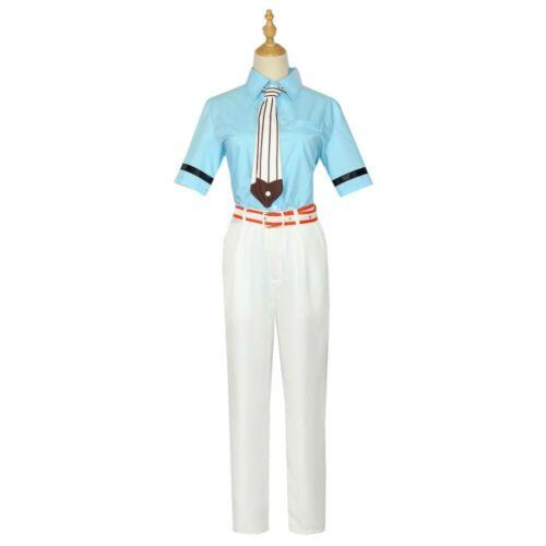 Cosplay Anime Toilet-bound Hanako kun Minamoto Kou Wig Costume Uniform Suit Belt