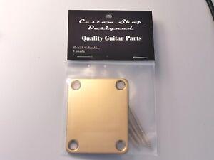 TARGA-personalizzata-Chitarra-Collo-Oro-per-adattarsi-Fender-Telecaster-o-Stratocaster-Chitarre