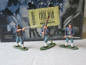 Régiment de Zouaves de Pennsylvanie Britains Acw Union Infantry 54mm # 17241 36881172413