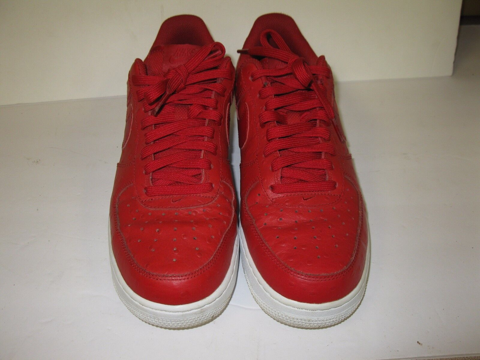 NIKE AIR FORCE 1 '07 LV8 MEN'S GYM RED WHITE 718152-603 Price reduction The latest discount shoes for men and women