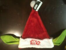 1326a61c639 Star Wars Yoda Santa Hat for Christmas 20in for sale online