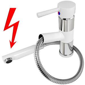 Weiss Niederdruck Spültisch Armatur Küche Wasserhahn Mischbatterie ...