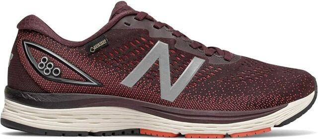 New Balance Men/'s  880v9 GTX Running Shoes 10 D M Purple//Red//Orange US
