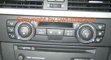 (Lr) Ringe Klimabedienung Alu chrom BMW E87, E90, E91, E92, E93