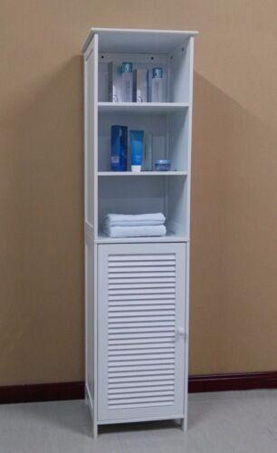 Wooden Tall Bathroom Cabinet//Linen Cabinet//Bathroom Storage Cabinet,HC-044