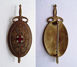 Insigne-des-blesses-Bouclier-Bronze-034-bijou-des-Allies-034