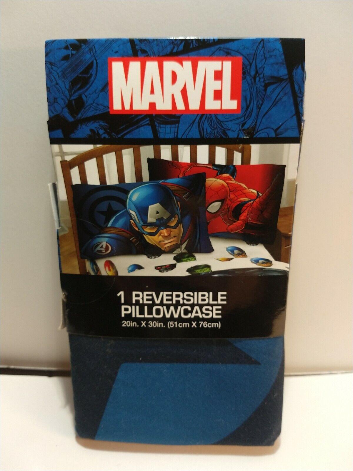"Details about  /MARVEL COMIC SPIDERMAN Reversible Pillowcase,Standard size Pillow Case 20/"" X 26/"""