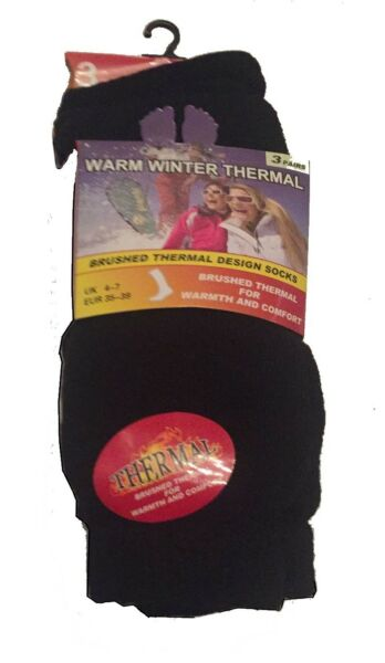 Confezione Di 3 Calzini Caldi Invernali Termici Lavoro All'aperto Calze Stivale Lavoro Pantofole Con Pinza