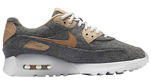 NEW Women's Nike Air Max 90 Ultra Shoes Size: 5 Color: Gray/Tan/White MSRP: 135