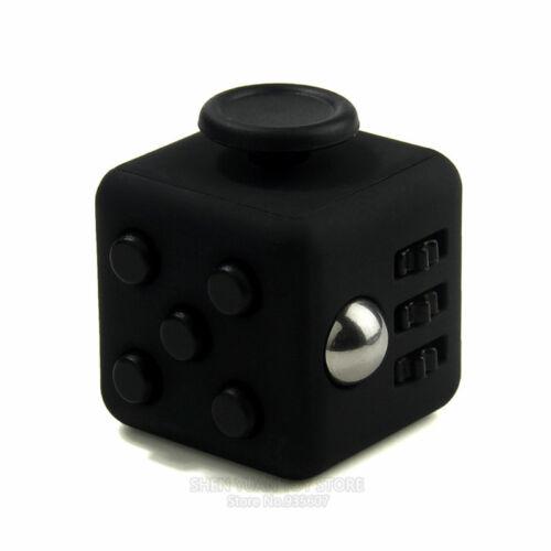 Fidget Cube Premium Box Adults Children Desk Toy Stress Relief Vinyl Cubes