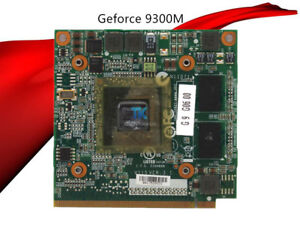 NVIDIA GEFORCE 9300M GS 256MB DRIVER UPDATE