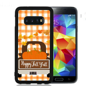Personalized-Case-Fits-Samsung-Galaxy-S10-S9-S8-S7-Plaid-Vintage-Truck-Fall