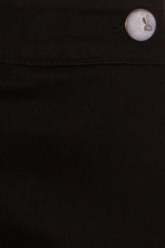 Hell Bunny Charlie Denim Jeans 1950/'s Vintage Retro Capri 3//4 Trousers Pants