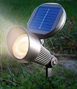 2x-projecteur-solaire-a-LED-blanc-chaud-Lampe-de-jardin-Spotlight