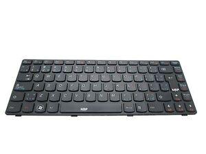 New Genuine Lenovo Ideapad G580 G585 French English Keyboard 25202011
