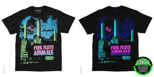 PINK FLOYD-ANIMALS BLACKLIGHT-GLOWS IN BLACKLIGHT-TSHIRT S-M-L-XL-2X,3X,4X,5X,6X
