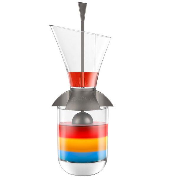 Rainbow Cocktail Layering Tool - Fun Bar Drink Mixing Mixology Slow Pour Gadget