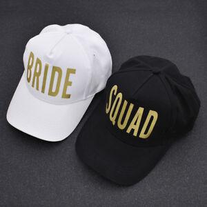 Golden-Print-Bachelorette-Hat-Baseball-Cap-White-Black-Wedding-Party-Lovers-Hats