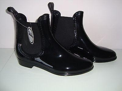 Juju Jelly Welly Waterproof Rain Wellington Short Ankle Boots