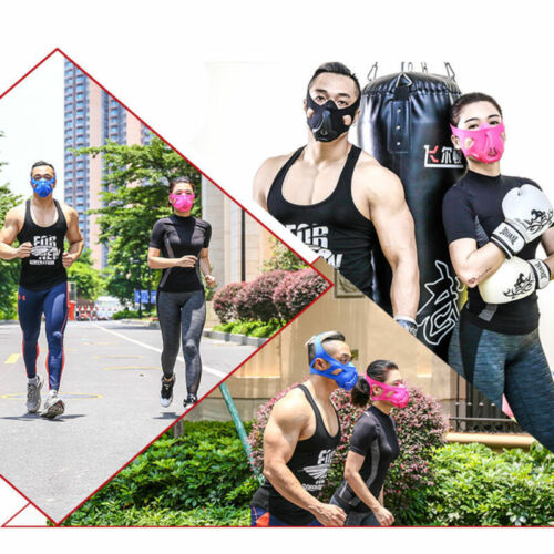 Hot High Altitude Training Face Mas For Running Cycling Fitness Workout Mas yt2