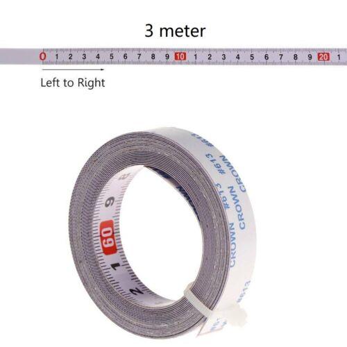 Télémètre Mètre Auto-adhésif 1//2//3//5m Auto Métrique Ruban à Mesurer Règle