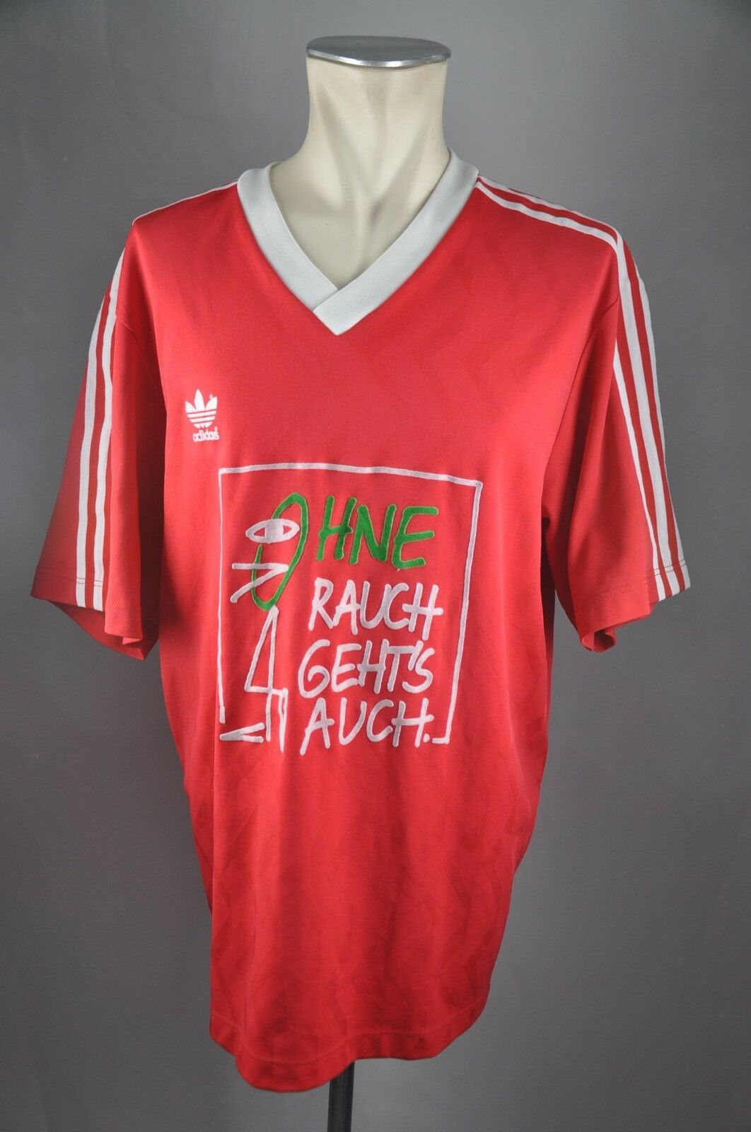 Adidas vintage Trikot Fußball 90er 90s Shirt Gr. XL Brandenburg ohne Rauch  VA7