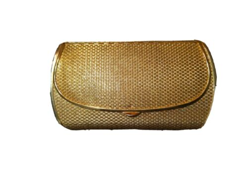 Vintage Coblentz Gold Metal Clutch