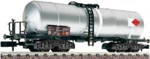 Fleischmann-848014-N-Gauge-SBB-Mitrag-Chrome-Plated-Bogie-Tank-Wagon-VI