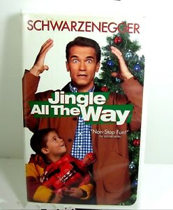 image is loading jingle all the way vhs 1997 arnold schwarzenegger - Arnold Christmas Movie