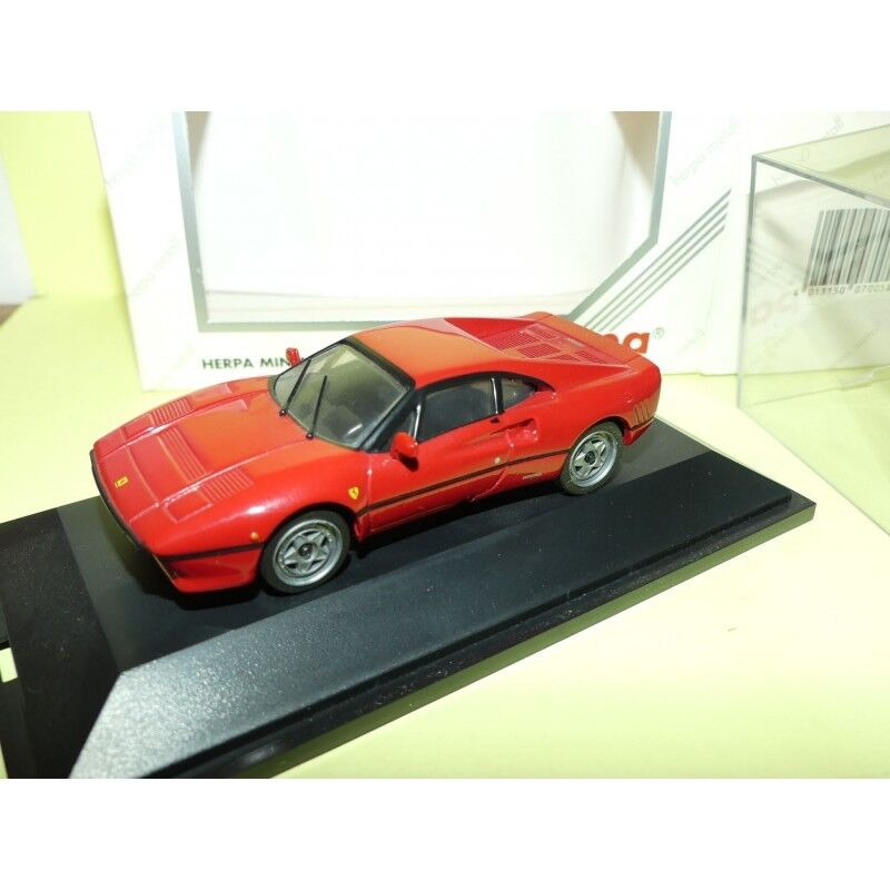 FERRARI 288 GTO red HERPA 1 43 en metal