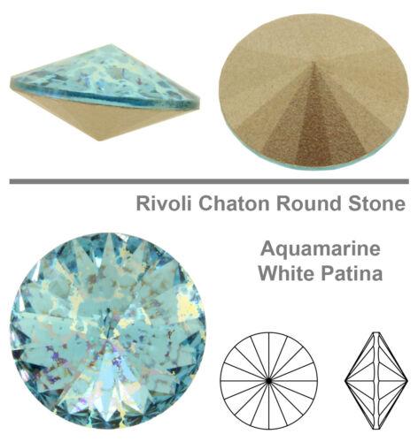 NEW Patina Effects Genuine SWAROVSKI 1122 Rivoli Round Stones Crystals
