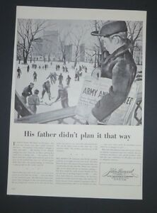 Original-1942-Print-Ad-JOHN-HANCOCK-Insurance-Harold-Smith-Art-WWII