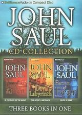 John Saul Collection : In the Dark of the Night - The Devil's Labyrinth - Faces