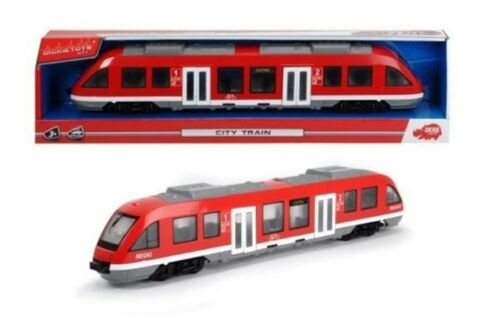 20203748002 Dickie City Train Nahverkehrszug Regionalbahn Straßenbahn Zug Bahn