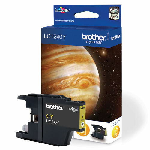 CARTOUCHE BROTHER JAUNE LC1240 / lc1240y lc1280xl lc