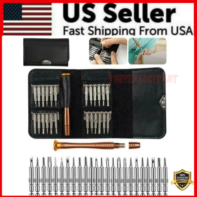 25 in 1 Repair Tool Set Screwdriver Wallet Kit For Macbook Pro Air Smart Phones