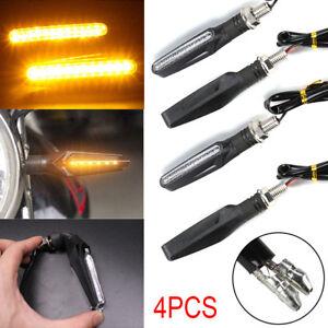 4x-LED-Motorcycle-Sport-Bike-Motorbike-Turn-Signal-Indicator-Light-Amber-12V-UK