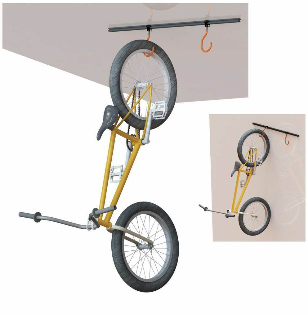 SUPER B Support bicycle on roof/wall Super B TB-1817