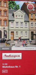 Auhagen-12250-Spur-H0-TT-Bausatz-Wohnhaus-Nr-1-Stadthaus