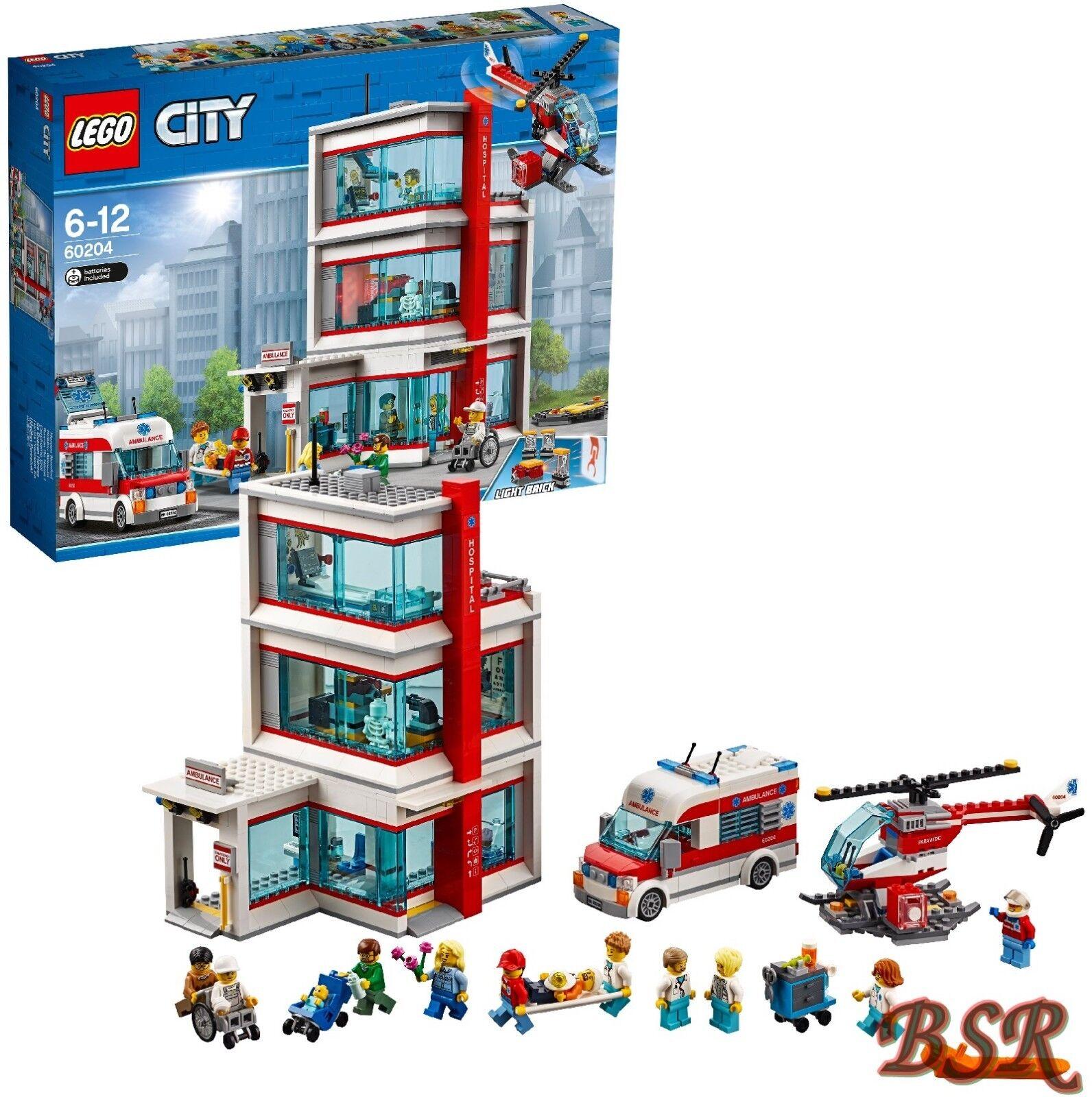 LEGO ® City: City: City: 60204 hôpital & 0. -€ expédition & NOUVEAU & NEUF dans sa boîte! 0ff57c