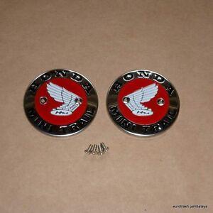 Honda-Z50-Minitrail-Gas-Fuel-Tank-Emblem-Badge-SET-WITH-SCREWS-z-50-K0-K1